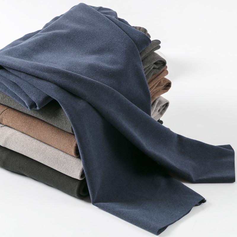 男士保暖裤加绒加厚打底裤单件一体修身抓绒无痕薄款内穿秋裤冬季