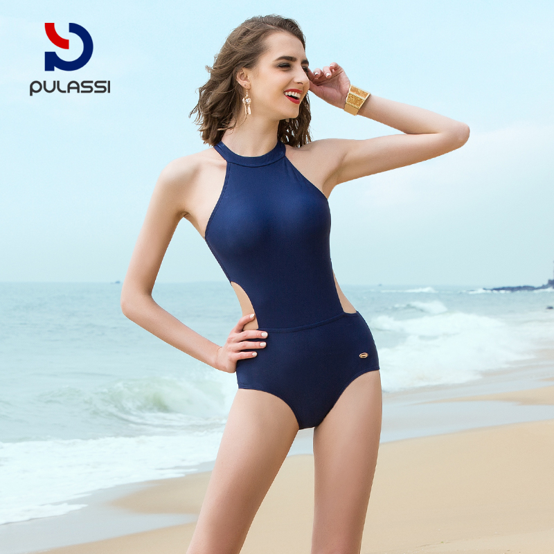 08d341c0161e2 Pran Shi sexy swimsuit female Siamese small chest gather was thin ...