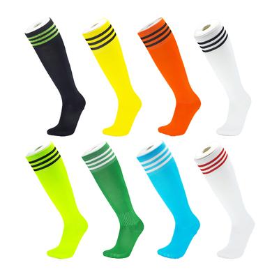 黑色白色足球袜长筒袜子女男款成人儿童小学生护腿运动袜过膝薄款