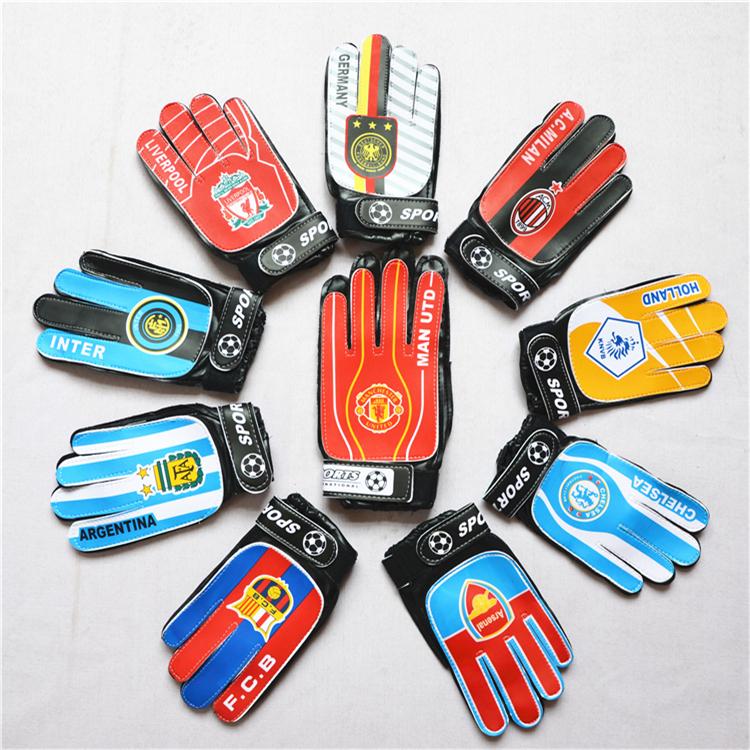 Специальность сборной клуб логотип команды футбол охрана ворота член перчатки для взрослых ребенок футбол перчатки портал перчатки