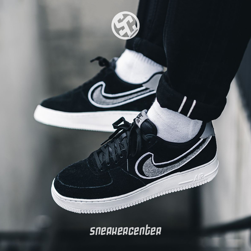 1ee3f7c9a7aab Nike Air Force 1 AF1 Black and White JDI Air Force One Men's and ...