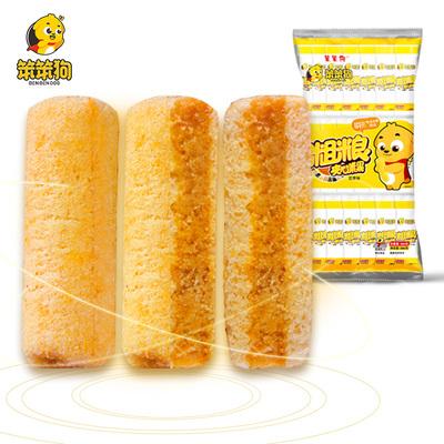笨笨狗粗粮夹心米果能量棒饼干小时候的零食散装多口味整箱大礼包