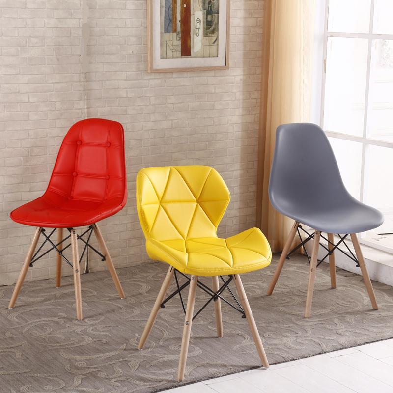 Nordic Ims Обеденный стул Прием Компьютерная переговорная Стол Стул Спинка Стул поколение Простой ленивый домашний стул