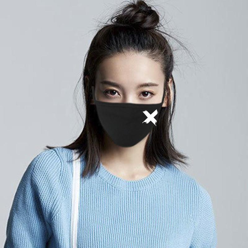 韩版个性纯棉口罩男女士冬季防尘透气防寒保暖时尚可清洗易呼吸潮_精选券