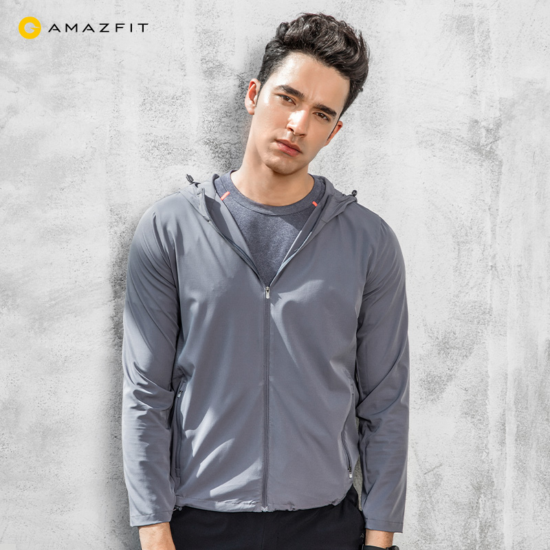 Amazfit four-sided bullet-skinned windbreaker Huami outdoor sports breathable sun protection clothing men's and women's jackets.