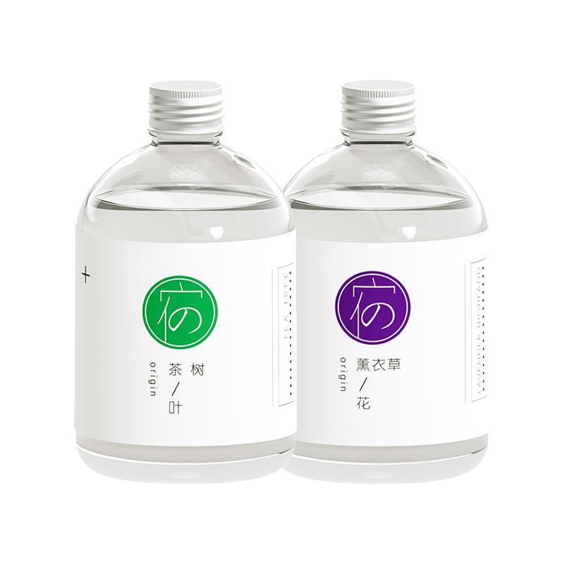 宿系之源纯露茶树薰衣草组合平衡水油清洁爽肤水祛痘修护温和花水