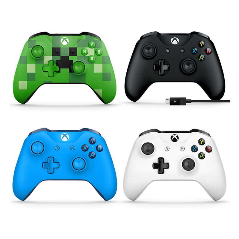 Microsoft XBOX ONE Handle Elite Game Handle PC One s Bluetooth Handle Xbox  One S Handle Steam Total War Wolf PC Cable Wireless NBA