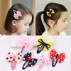 Children's hairpins girls hairpins small girls hair accessories bows cute Korean version of the tide headwear clip Liu seaside clip