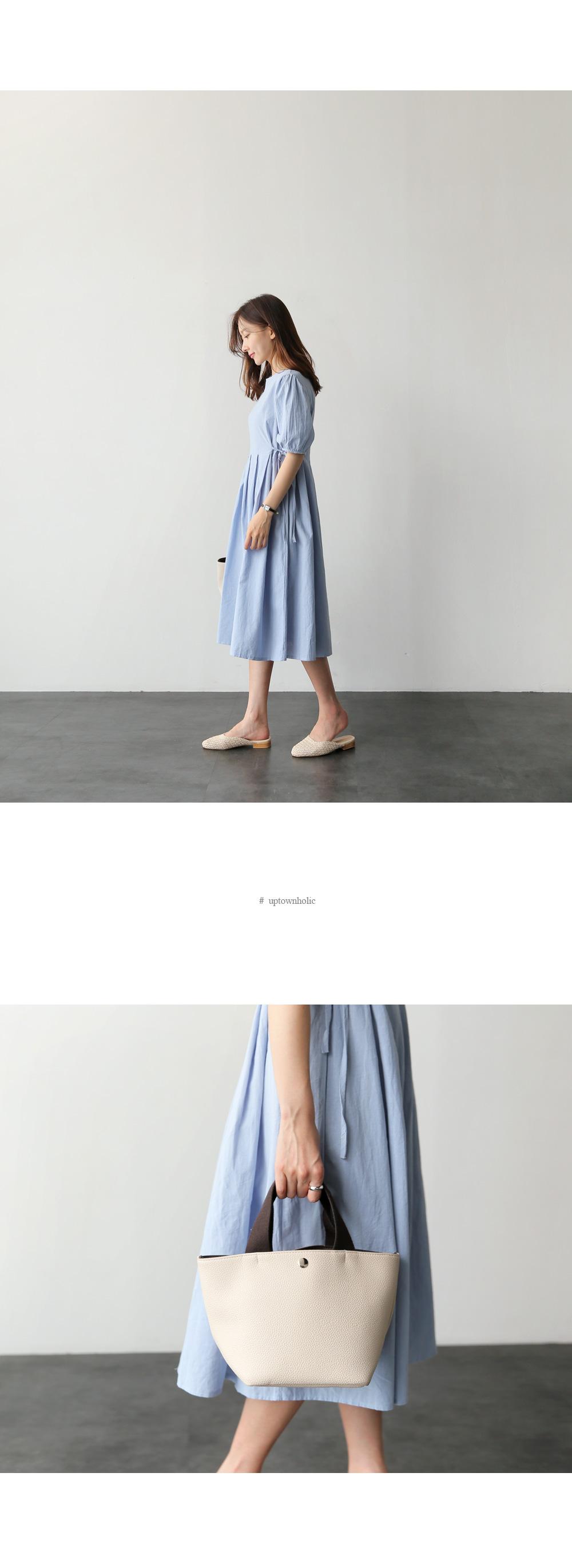 韓 實拍 ♥ 棉麻連衣裙 M0073 洋裝 連身裙 大擺中長裙