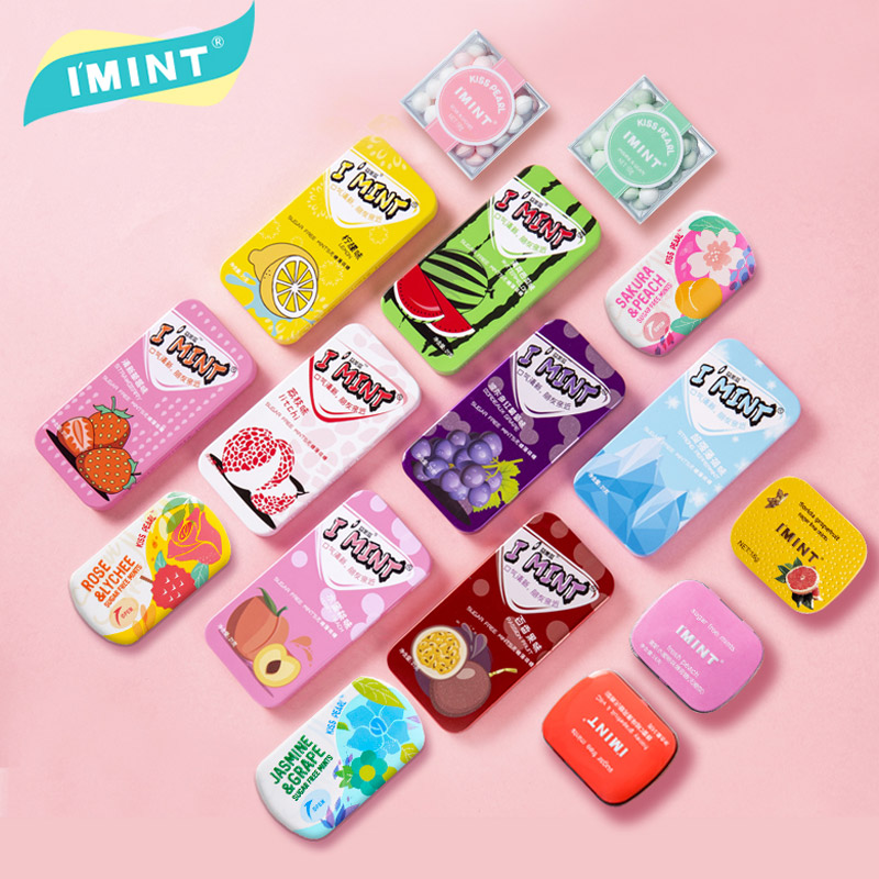 春节照常发货IMINT网红无糖薄荷糖6盒