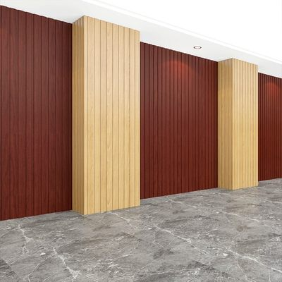 Balcony Ecological Wooden Great Wall Board PVC Ceiling Plate Decoration Material Wall Decoration Wall Skirt Corridor Wall Panel
