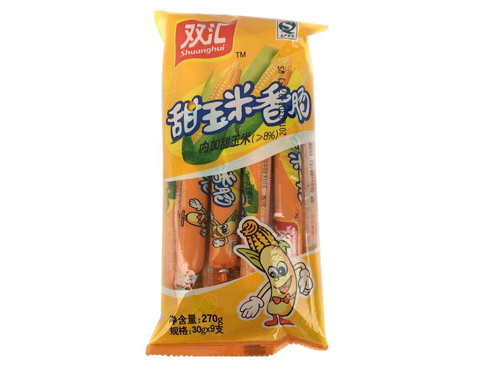 双汇甜玉米香肠270g