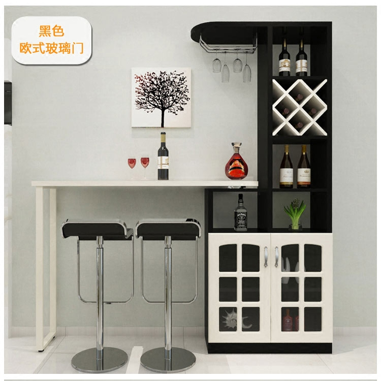 The living room home bar table corner wine cabinet combination ...