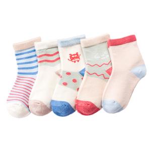 【5双装】春夏款宝宝纯棉袜子