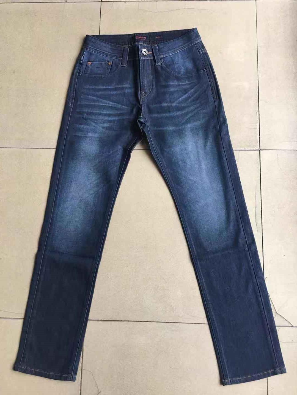 增致牛仔裤男男装牛仔秋冬款增致专柜弹力牛仔筒裤宽松直正品