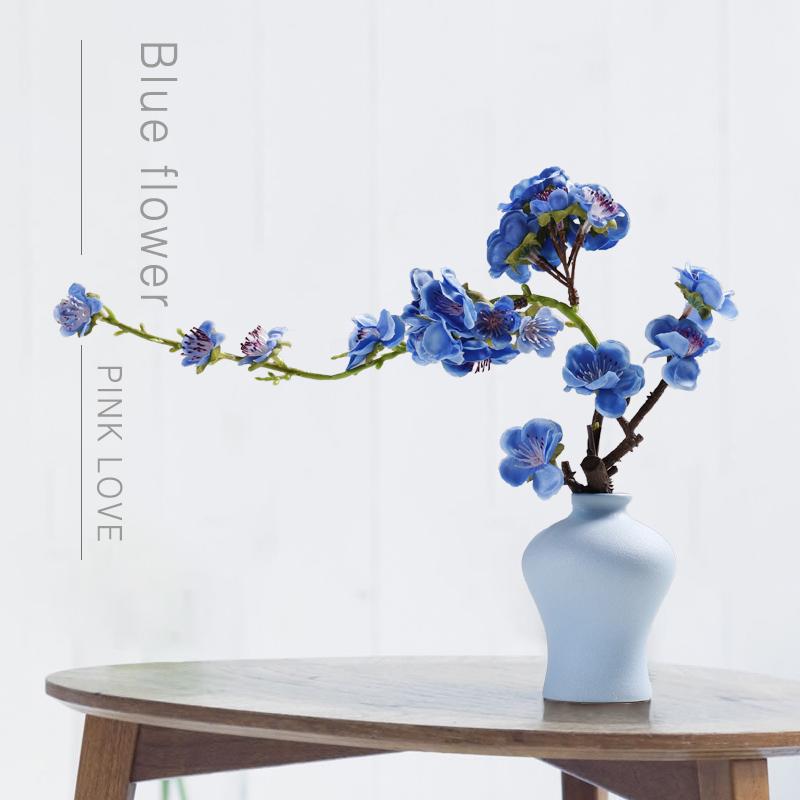 Potted Decoration Living Room Small Vase Art Artwork Decoration Indoor Desktop Fake Simulation Flower Arrangement Ceramic Modern Simple