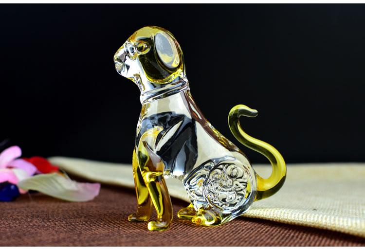 水晶彩色生肖-马