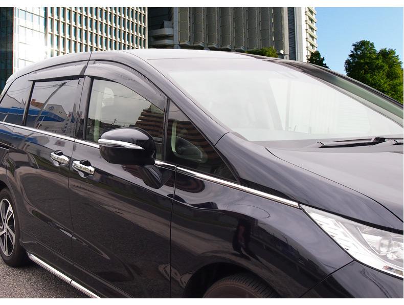 ❥家居館❥16-18款艾力紳後視鏡飾條 Honda ELYSION ODYSSEY 本田2017款奧德賽倒車鏡防擦條 改裝