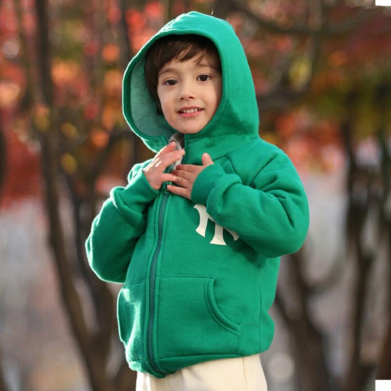 男童绒男孩儿童冬加厚外套冬季带帽摇粒绒外套羊羔宝宝加绒加厚女