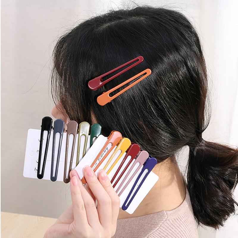 简约发夹边夹少女夹子头饰韩国网红刘海夹碎发发卡后脑勺一字顶夹