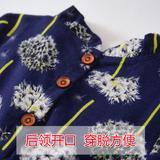 Новый детские платье демисезонный Установить 1 чистый хлопок популярный Цветочные платья 2 детские чистый хлопок 3 девочки длинный рукав 4 года корейская  версия