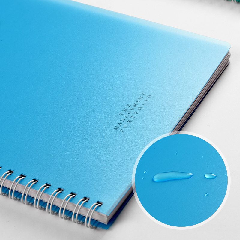 a5 coil notebook notebook spiral soft copy notebook thickened loose