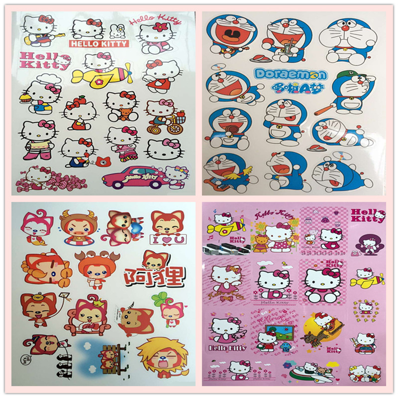 Usd 649 electric car sticker cartoon cute electric motor scooter electric car sticker cartoon cute electric motor scooter stickers doraemon doraemon stickers cover scratches stickers flowers voltagebd