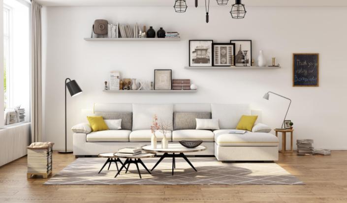 艺术风格的客厅,体验轻奢之美5