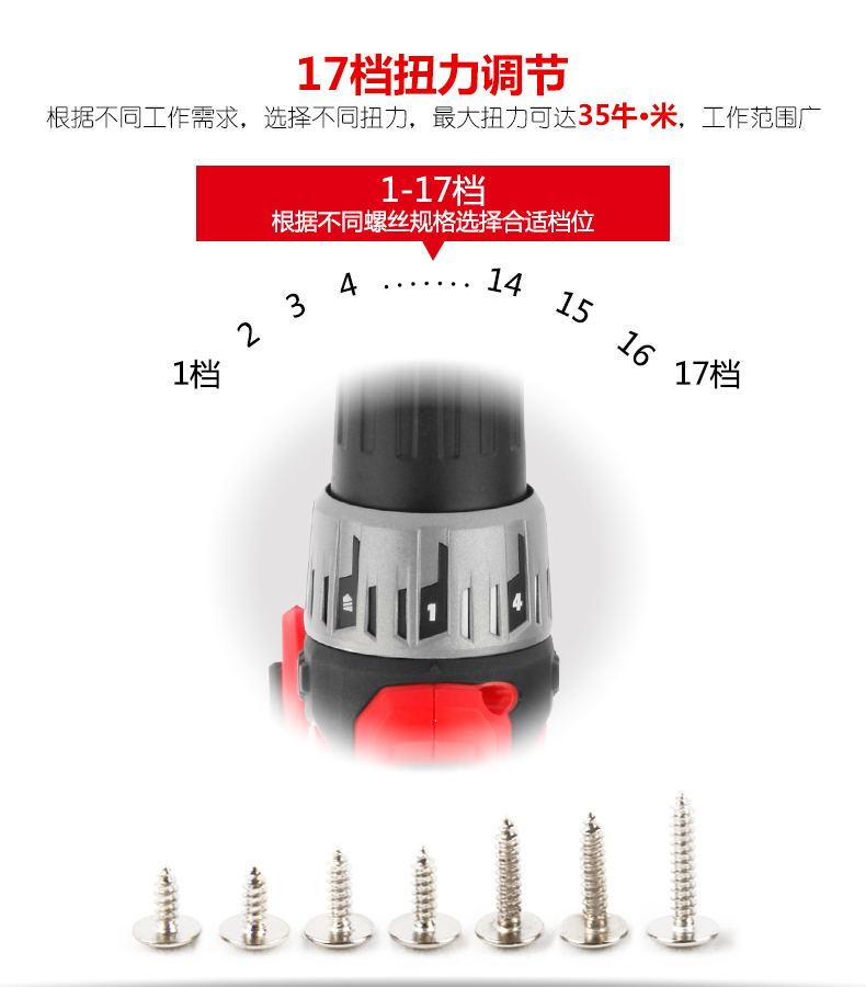 大有12V锂电充电电钻5271-Li-12TS图片八