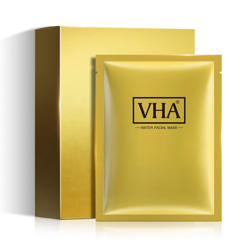 【拍3件 第二三件0元】VHA金润蚕丝胶蛋白面膜补水保湿收缩毛孔