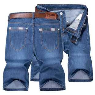 男士休闲百搭牛仔五分短裤