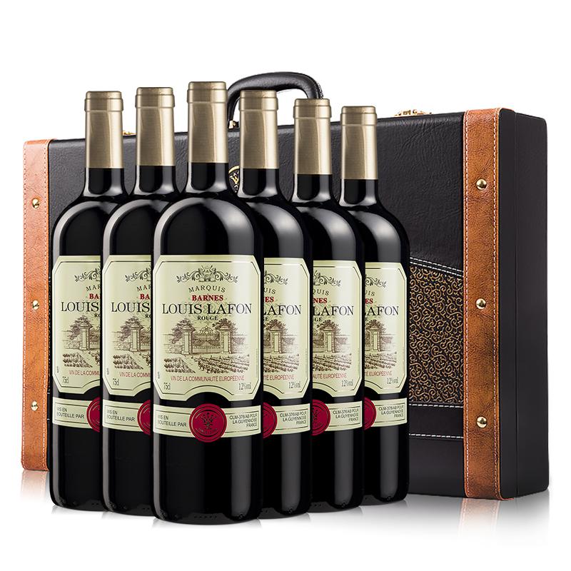 法国原瓶进口整箱路易拉菲红酒