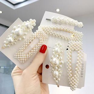 2件套珍珠发夹只要3.95元