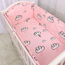 Bed circumference baby cotton crib bed surrounding baby bed around four seasons general summer