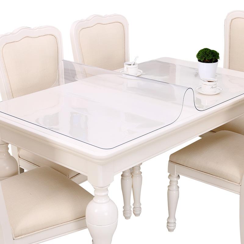 软塑料玻璃PVC桌布防水防烫防油免洗餐桌垫透明茶几垫台布水晶板_领取3.00元天猫超市优惠券