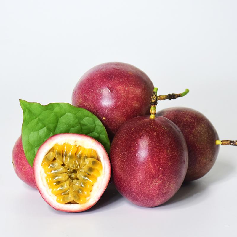 广西百香果热带水果新鲜西番莲鸡蛋果现摘5斤精装大红果酸爽香甜