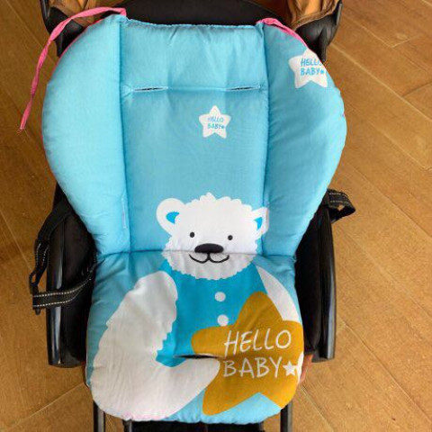 Children's baby baby dining chair cushion cushion cover five-point universal child eating stool stroller Xia Bingsi cool cushion