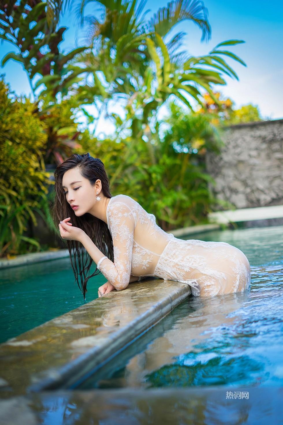 嫩模周妍希(土肥圆矮挫穷)巴厘岛旅拍 高清套图 第2张