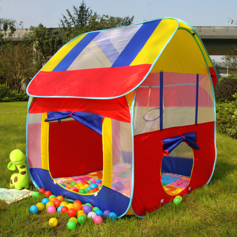 Children tent indoor outdoor large house baby home Ocean ball pool toy play House 3 year old small tent & tent indoor outdoor large house baby home Ocean ball pool toy play ...