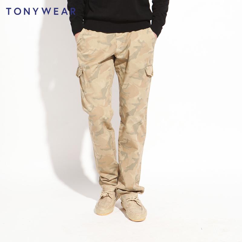 Tommy Hilfiger制造商 TONY WEAR 汤尼威尔迷彩裤