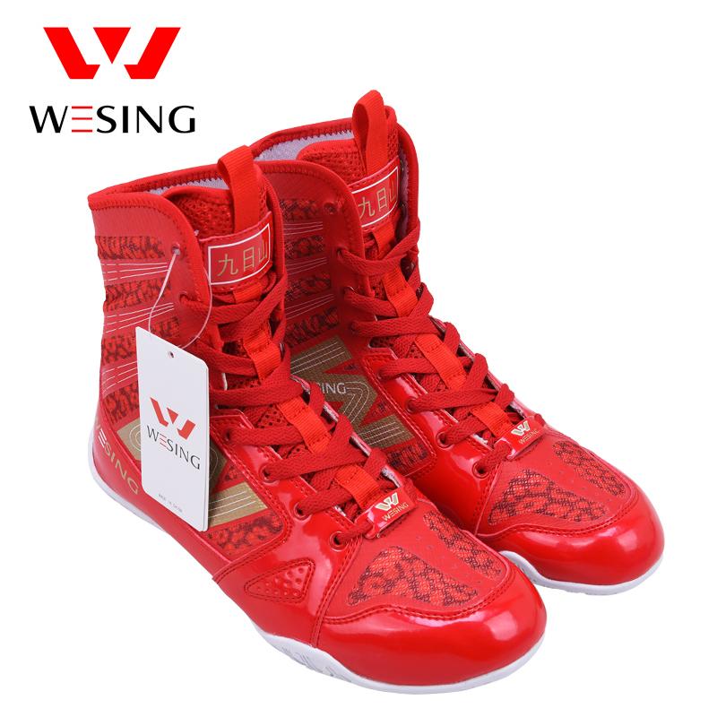 Девять день гора бокс обувной человек ушу конкуренция бокс обучение бросать упорная борьба обувной борьба забастовка сетка борьба высокий ботинок