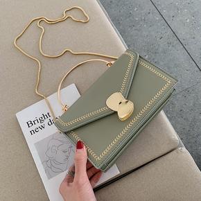 Западный стиль пакет пакет женщина 2019 новый лето портативный корейский сумку мода цепь дикий посланник маленький квадрат пакет, цена 442 руб