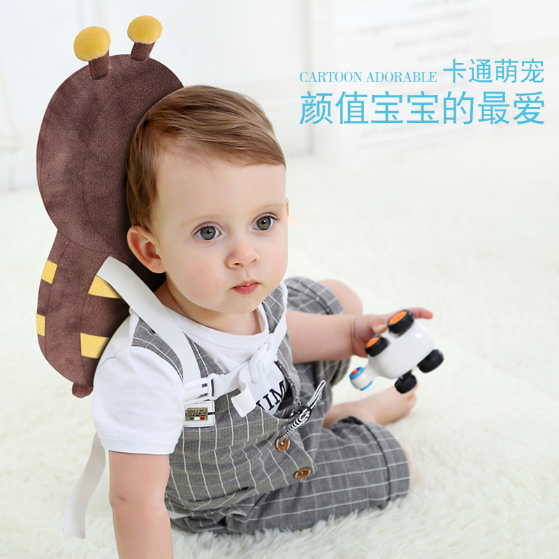 Safety Equipment Mother & Kids Baby Infant Head Protection Soft Hats Toddler Safety Helmet Anti-collision Security Safety Cap Cotton Caps Good Heat Preservation