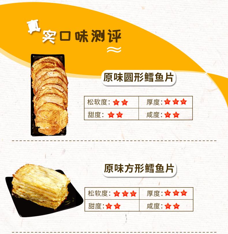 山东特产 金鹏 即食碳烤鳕鱼片 250g*2袋 图9