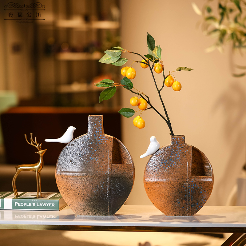 Characteristics of ceramic creative trend vase example room porch light key-2 luxury hotel desktop soft outfit small place adorn article presents