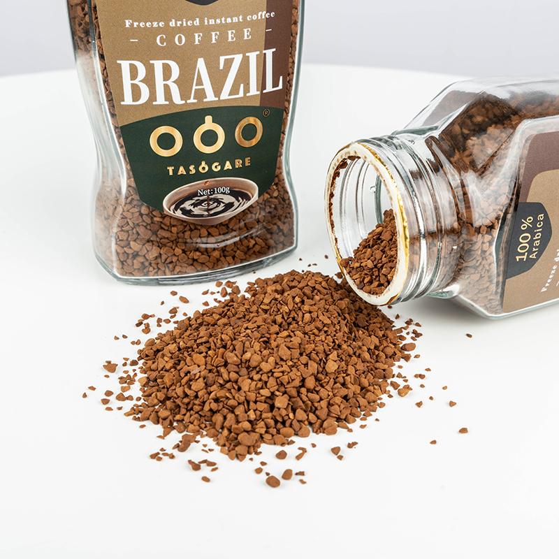 巴西进口 TASOGARE 隅田川 黄金速溶冻干纯黑咖啡粉 100g瓶装 天猫优惠券折后¥29包邮(¥59-30)