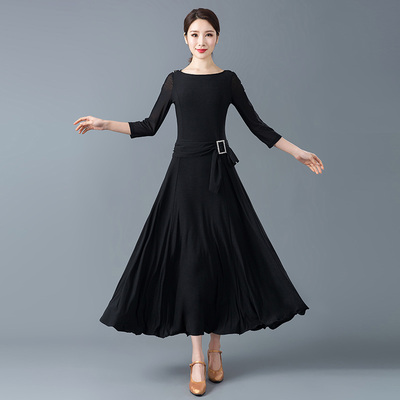 Dresses for Modern Dance, Women's National Standard Dance, Friendship Dance, Gonggong Skirt, Waltz Skirt