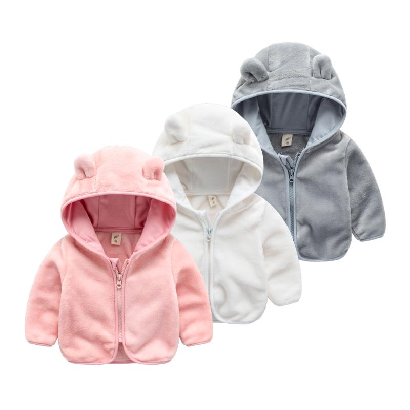 宝宝外套秋冬小童洋气女童春装1岁婴幼儿衣服3婴儿珊瑚绒童装春秋