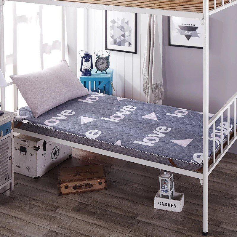清仓睡眠床垫海绵加厚双层铁架垫子两面用男生新生初中单人特价