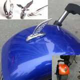 Harley electric car motorcycle 3D car logo personality decorative standard wind wind eagle standing standard goddess